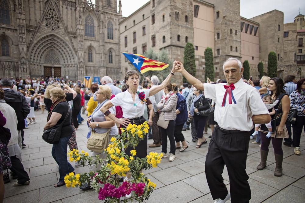 Пенсионеры в Барселоне