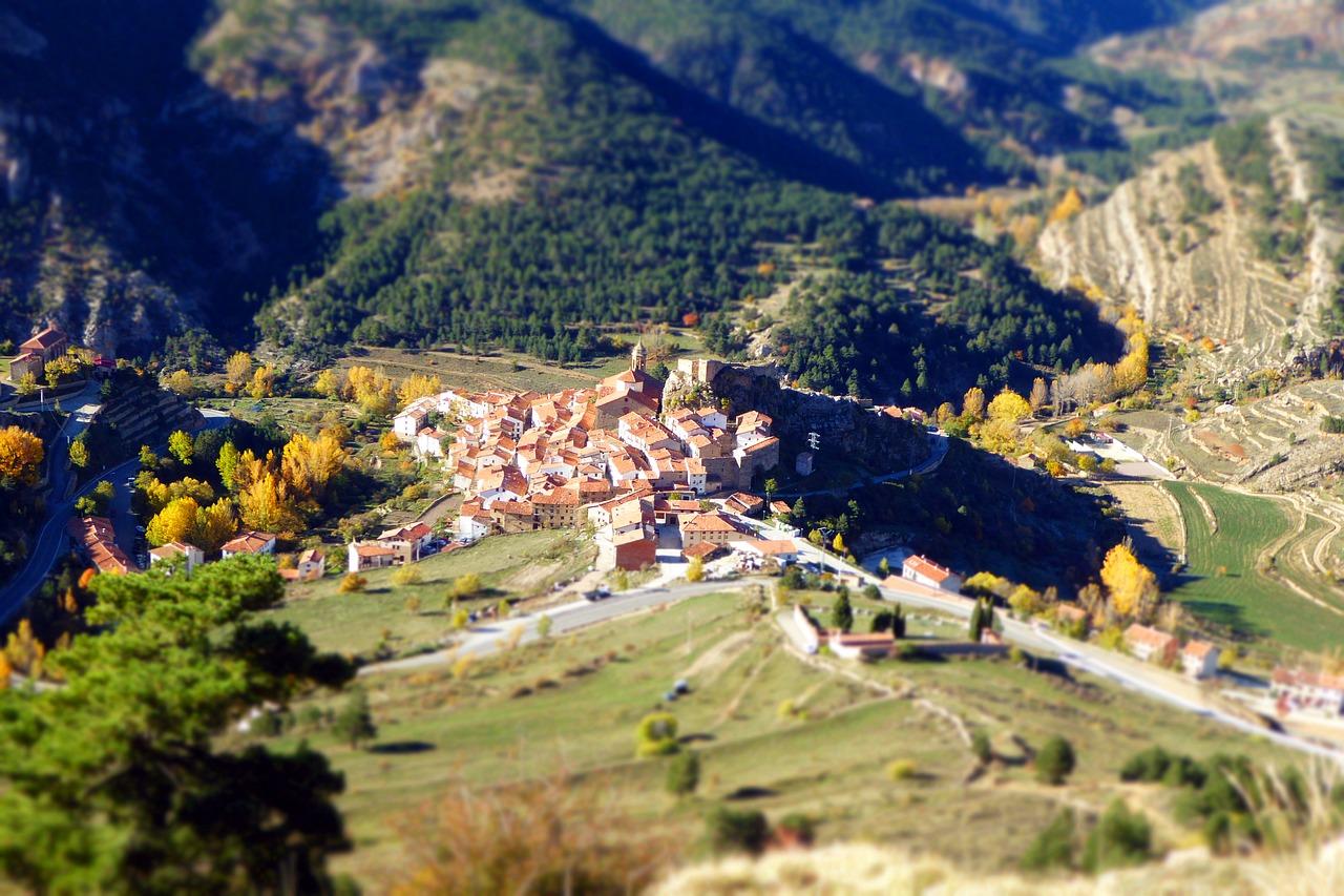 Пейзажи Арагона