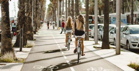Велосипедистам Барселоны на заметку